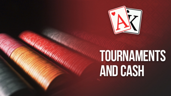 Tournaments and cash games. Game formats